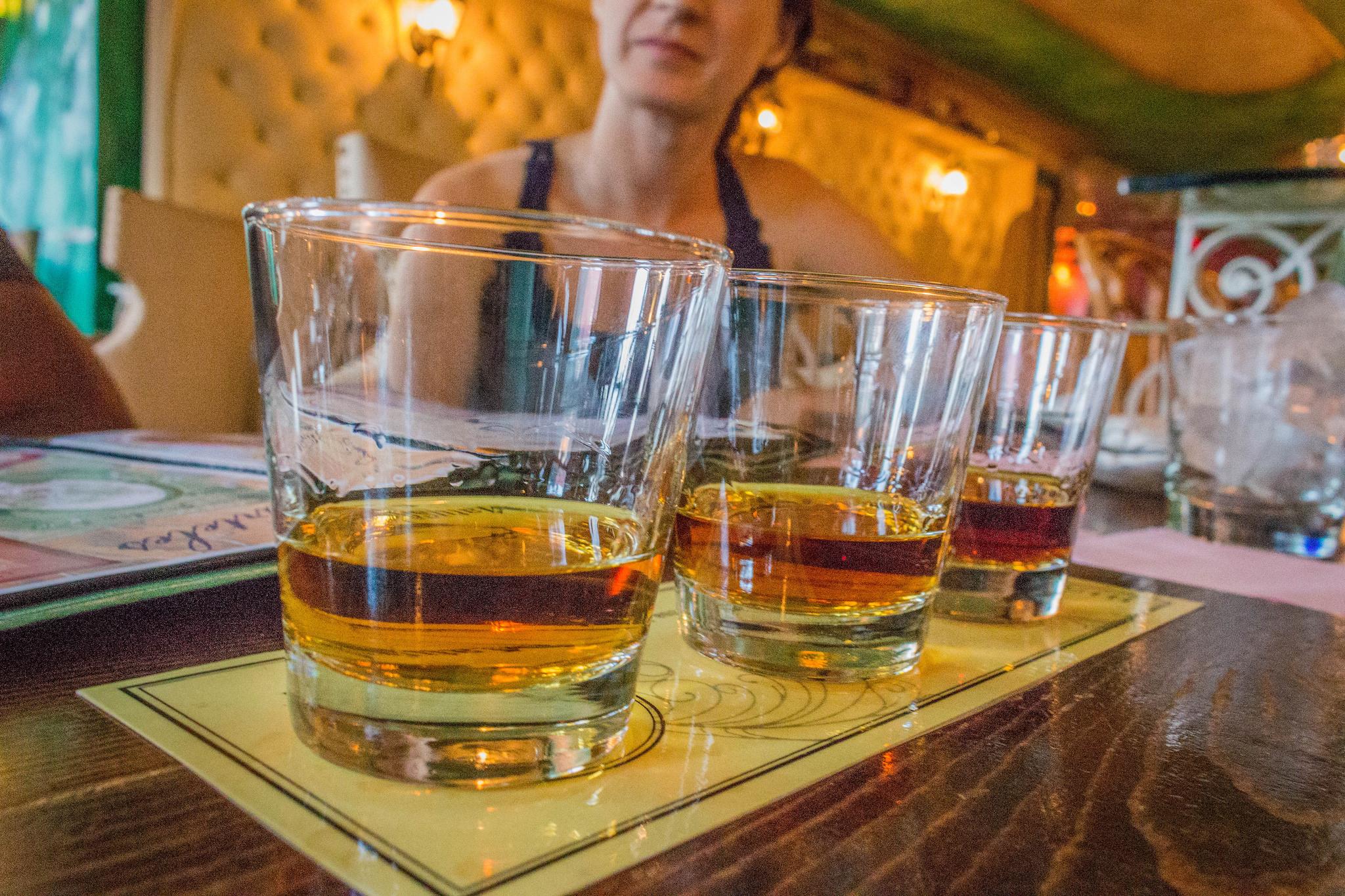 Rum Tasting Cienfuegos NYC