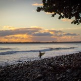 Honoli'i Paka Beach Park Hilo Hawaii Sunrise