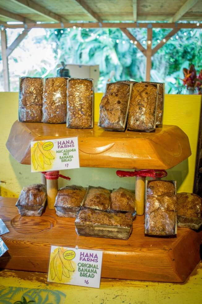 Best Maui Road to Hana Banana Bread Stop