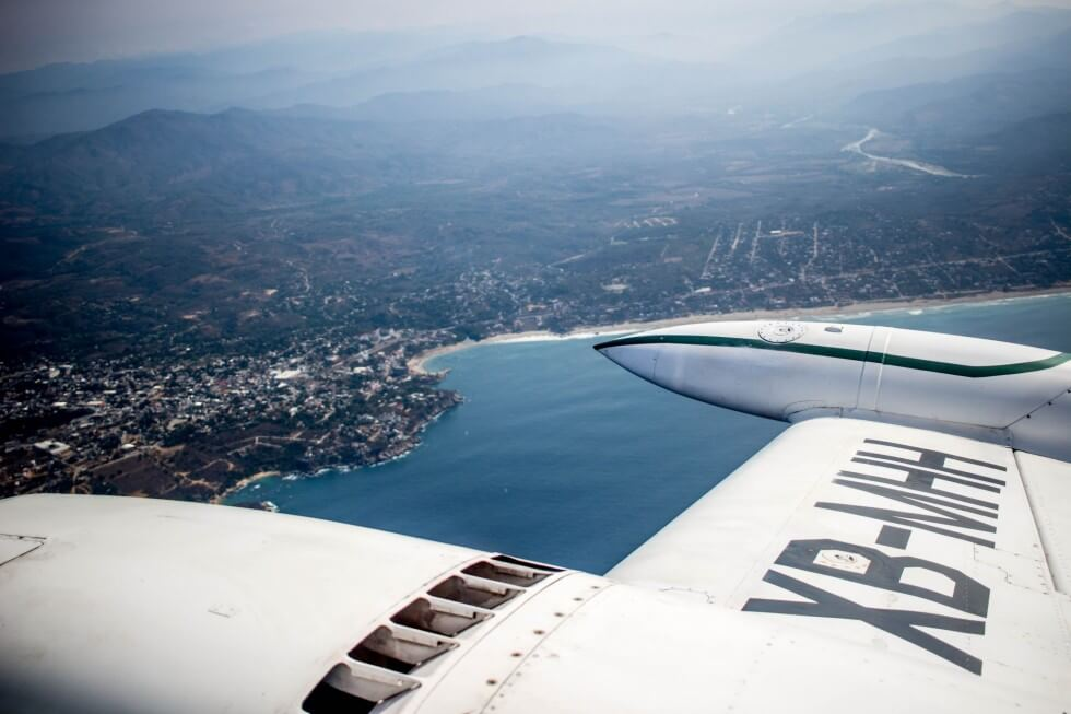 The best way to get from Puerto Escondido to Oaxaca