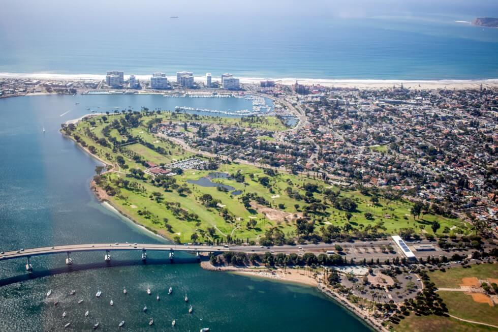 Coronado Bridge San Diego Flight Lessons