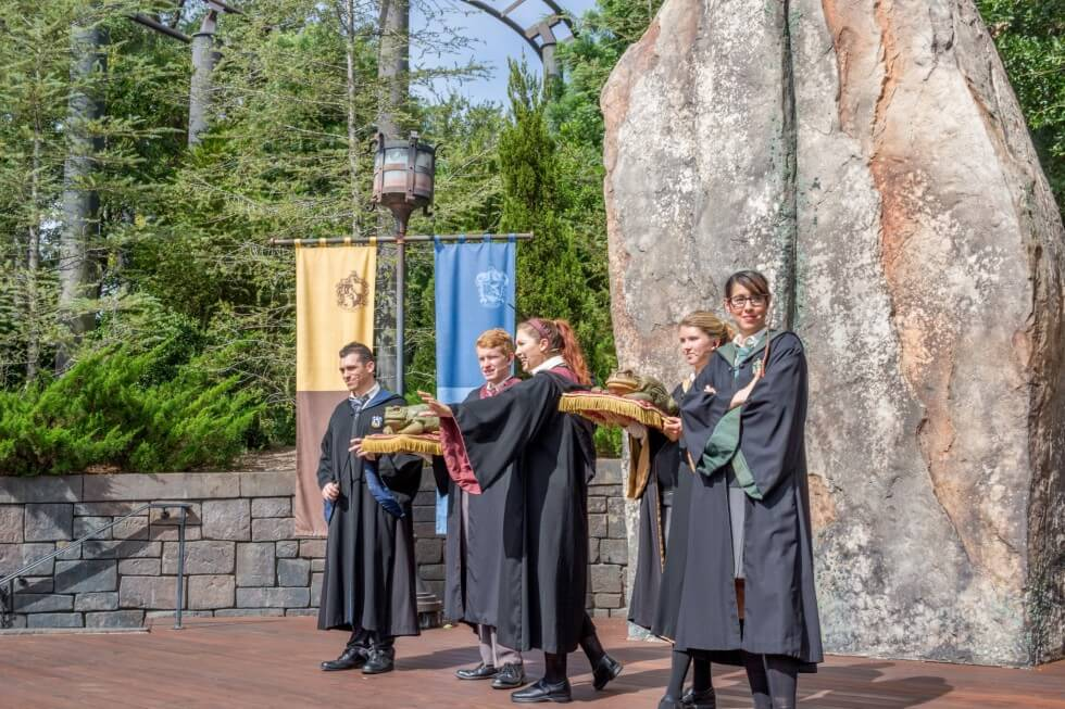 Frog Choir Visiting Harry Potter World Orlando