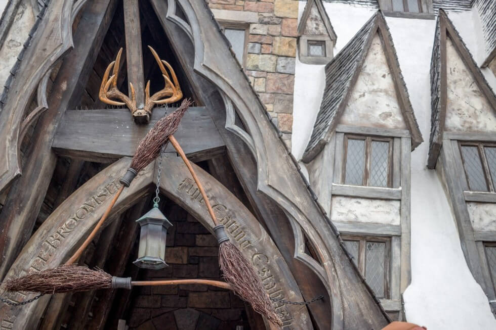 The Three Broomsticks in Hogsmeade Visiting Harry Potter World Orlando