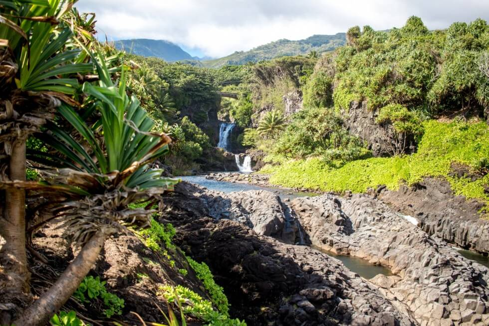 Seven Sacred Pools Maui