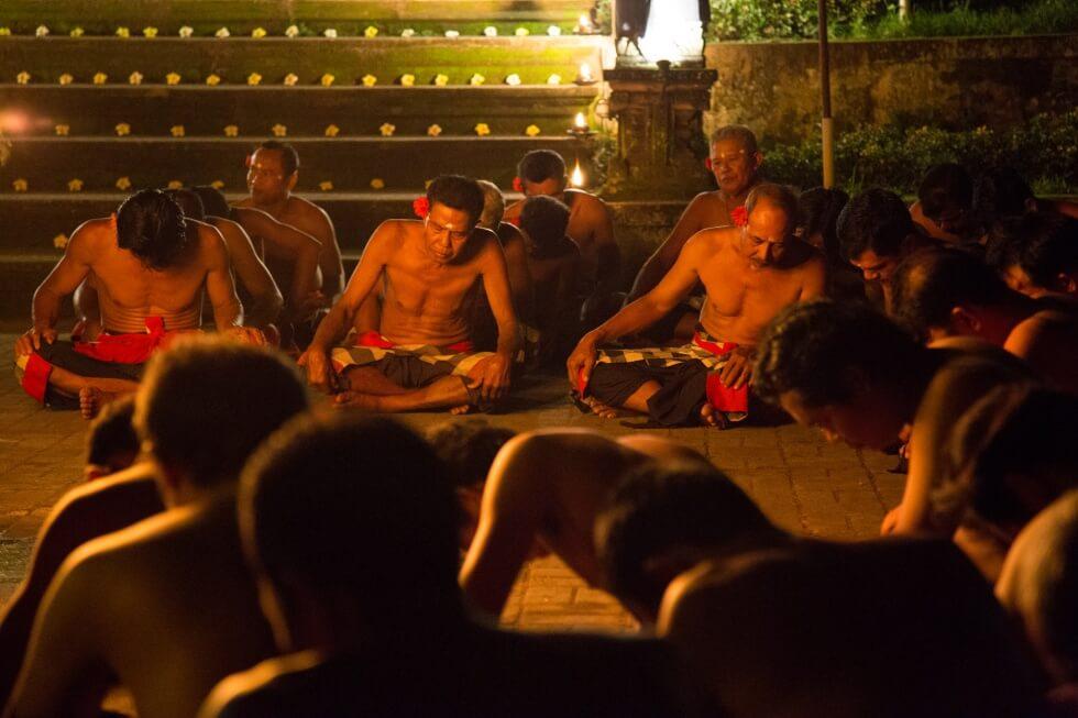 Junjungan Village Kecak Chanters Ubud