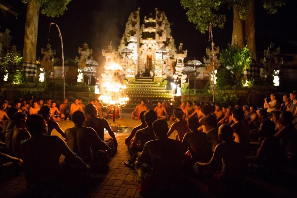 Junjungan Village Kecak Monkey Dance Performance Ubud