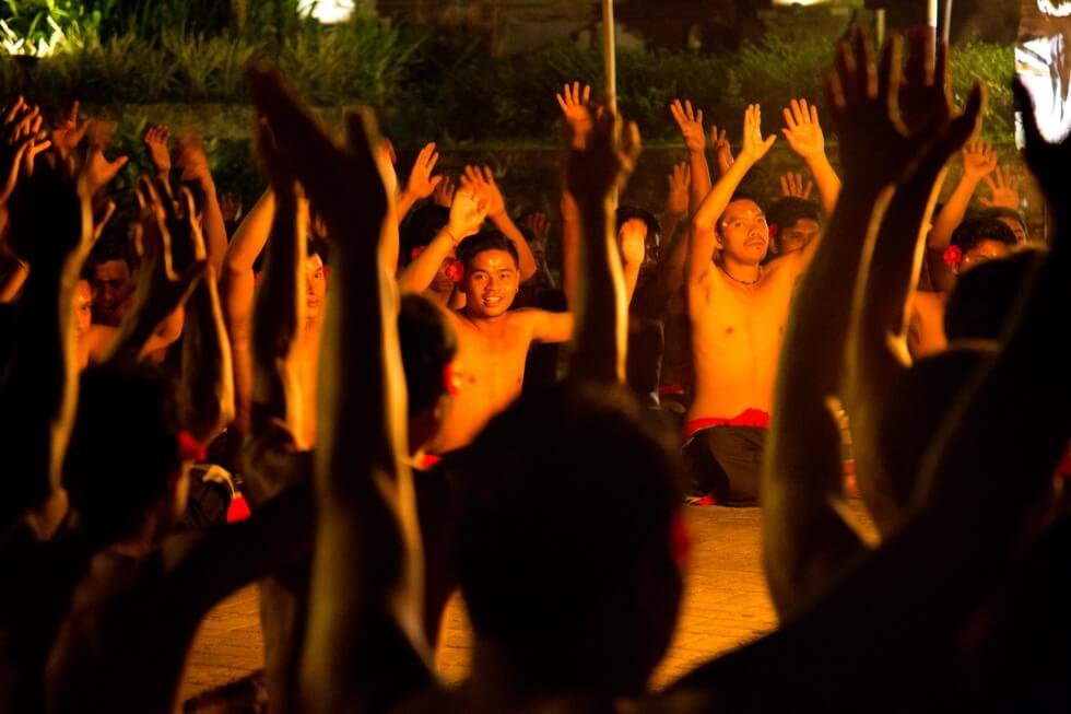 Junjungan Village Kecak Performance Ubud Happy Performers